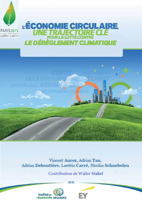 étude INEC économie circulaire changement climatique