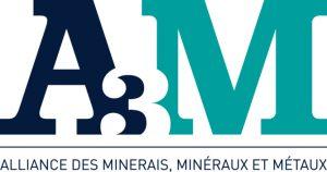 Logo A3M - Alliance des minerais, minéraux et métaux