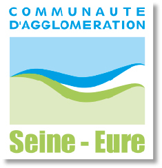 Logo Communauté d'agglomération Seine-Eure