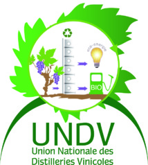 Logo Union Nationale des Distilleries Vinicoles