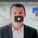 Vidéo : Commission Europe de l'Institut – 5 avril 2018