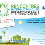 Intervention de l'Institut National de l'Economie Circulaire dans le cadre des Rencontres Internationales du Développement Durable