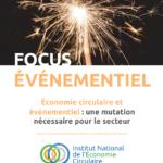 Focus INEC « Économie circulaire et événementiel »
