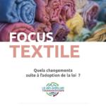 Focus INEC « Textile et loi économie circulaire »